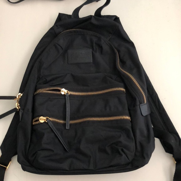 f5841f3f88 Black Marc Jacobs Backpack with Gold details. M 5b05a42bf9e501ab6f1b634e